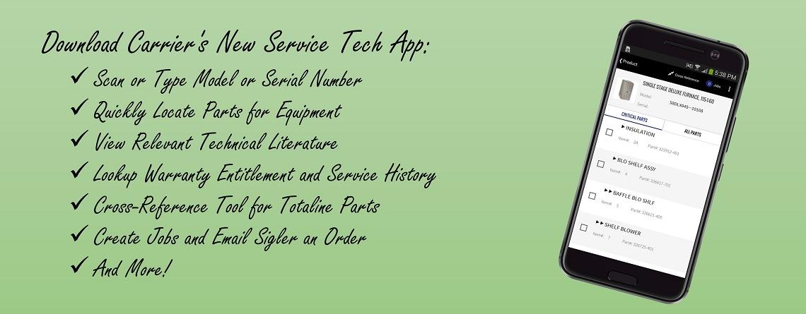 Service Tech App